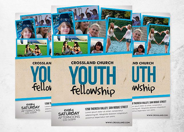 flyer template free yourweek abecae youth youth group calendar
