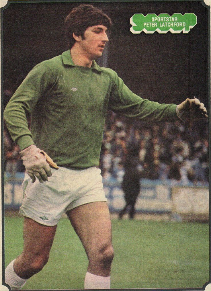 Peter Latchford of Celtic in 1977.