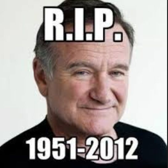 I am so devastated that Robin Williams died today, he was in some of my favorite movies like jumanji and alladin Rest in Peace Robin Williams