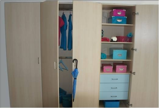 9 best images about closets vestiers on pinterest kid for Closet para ninos