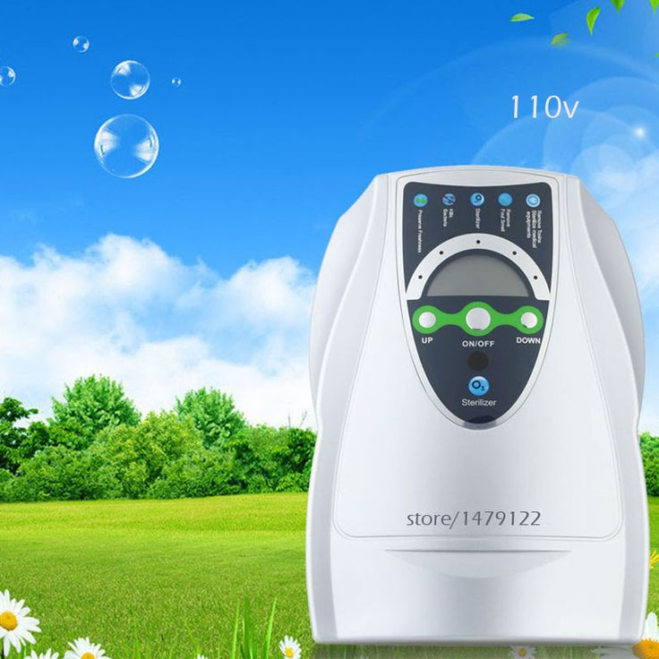 Portable Active Ozone Generator 400mg/H Sterilizer Air purifier Purification Fruit Vegetables Water Food Preparation Ozonator //Price: $US $58.24 & FREE Shipping //     #homeappliance24