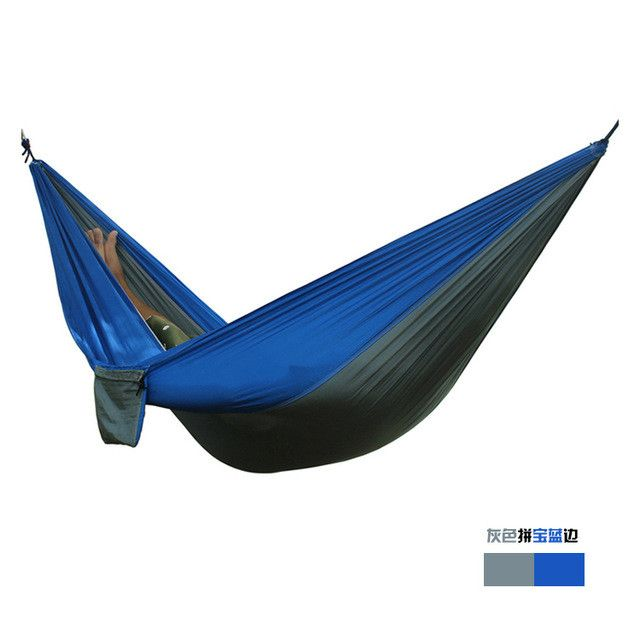 Portable Nylon Parachute Double Hammock (2 Person)