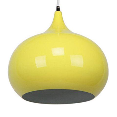 KIRKE Luminous Yellow Pendant Light - modern pendant light   SHE Lights