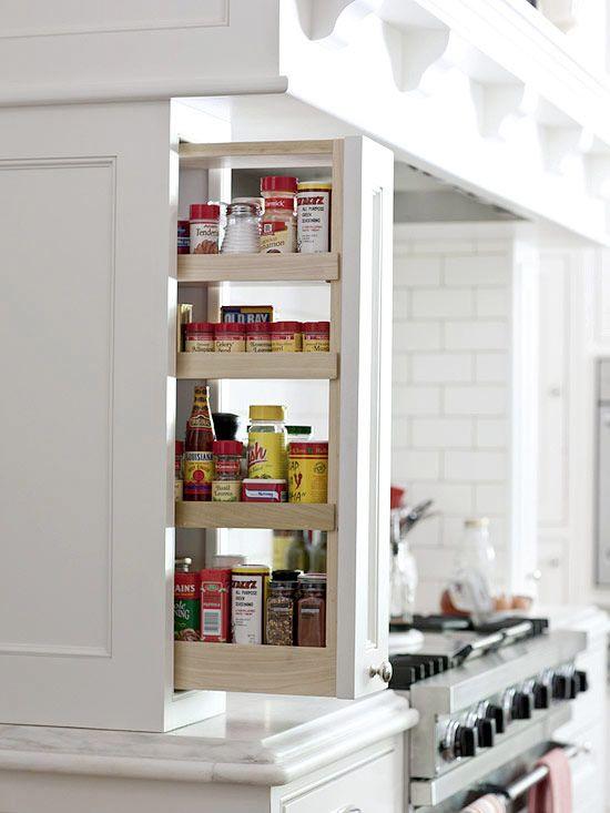 11 soluzioni di storage intelligenti voi desiderato di avere nella vostra cucina - Casa confortevole