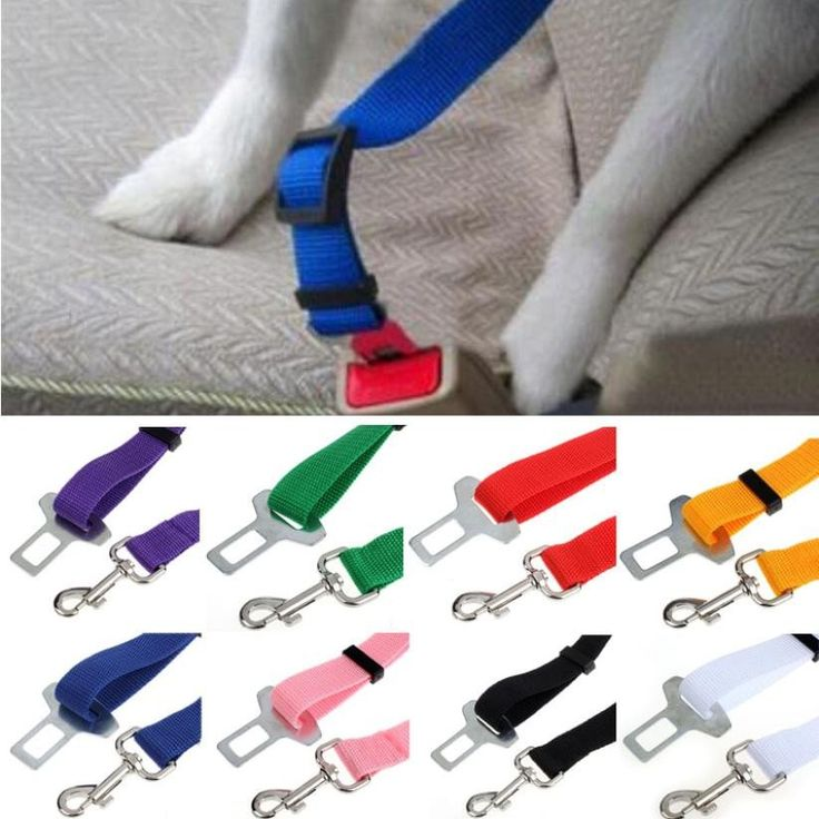 New Qualified Vehicle Car Seat Belt Seatbelt Harness Lead Clip Pet Cat Dog Safety