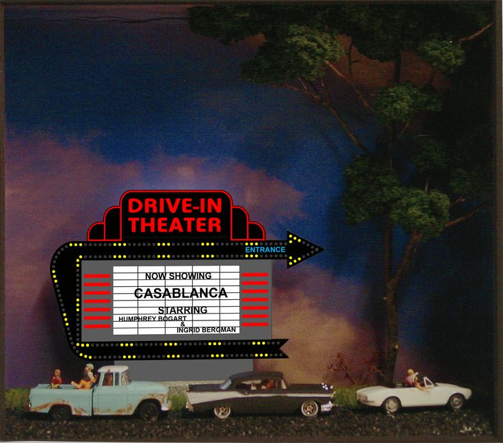 Drive Inn Theater | Drive-in Theater