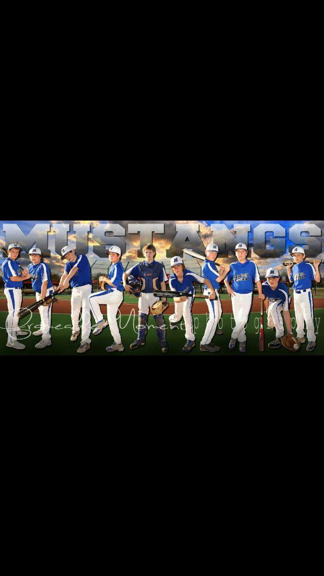 Baseball sports team photography