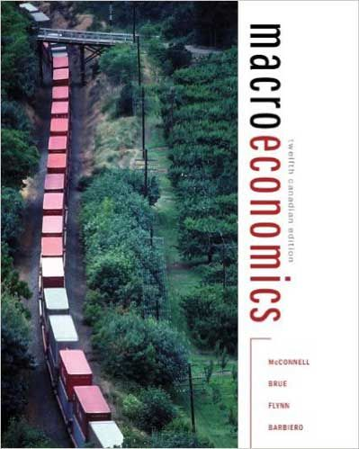 Microeconomics, 12th cdn edition by campbell mcconnell, stanley.