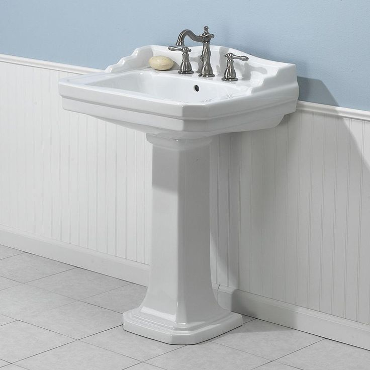 ... about Bathroom on Pinterest Pedestal, Craftsman and Polished chrome