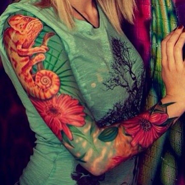 Chameleon Tattoo Finder: 18 Best Chameleon Images On Pinterest
