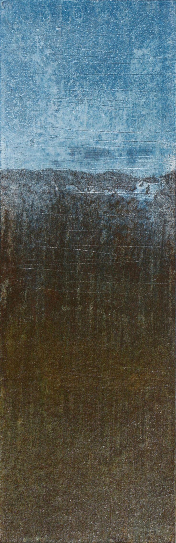 SEM TíÍTULO - Técnica mista sobre cartão -  37x12cm - 2016 - by Domingos Leite de Castro