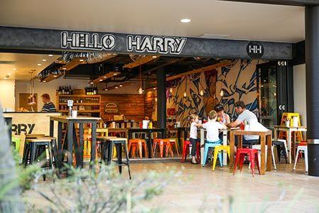 MAROOCHYDORE - Hello Harry. For burgers.