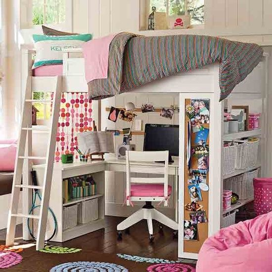 another cool loft bed - Coole Mdchen Schlafzimmer Mit Lofts