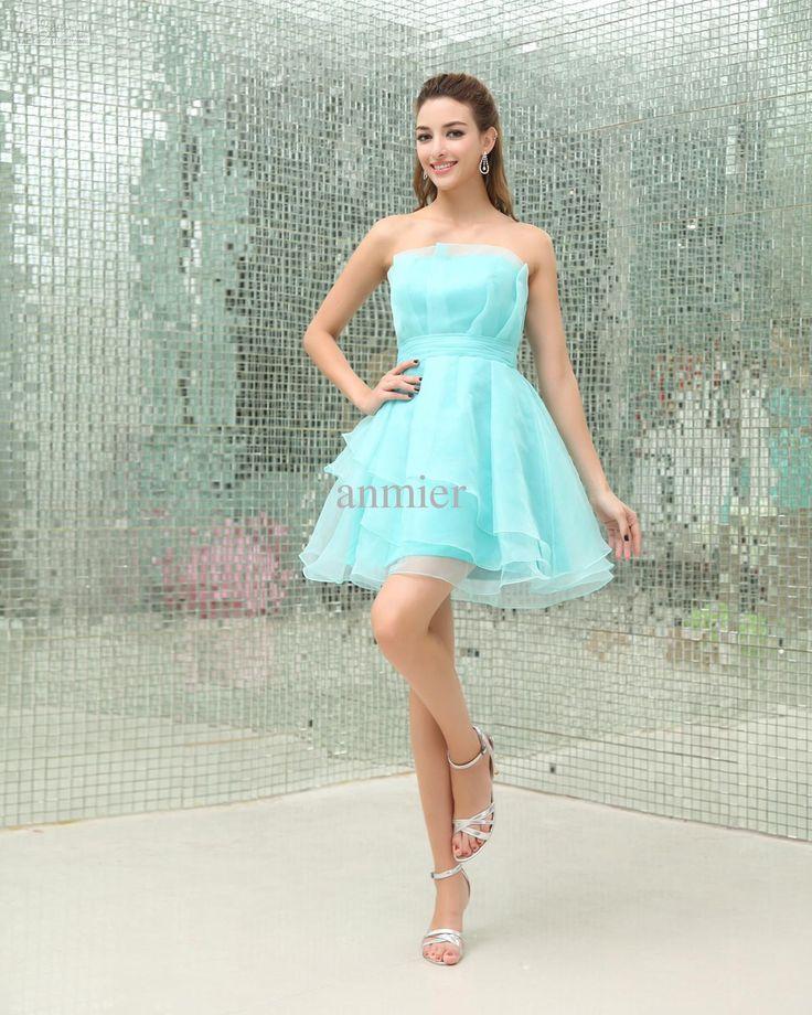 Light Blue Semi Formal Dresses Fashion Dresses