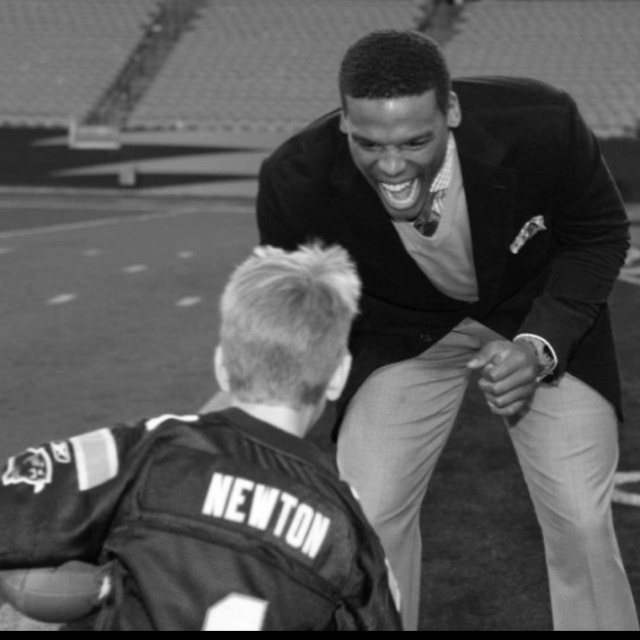I know there are millions of pictures of Cam Newton, but I think this is the best one ever.