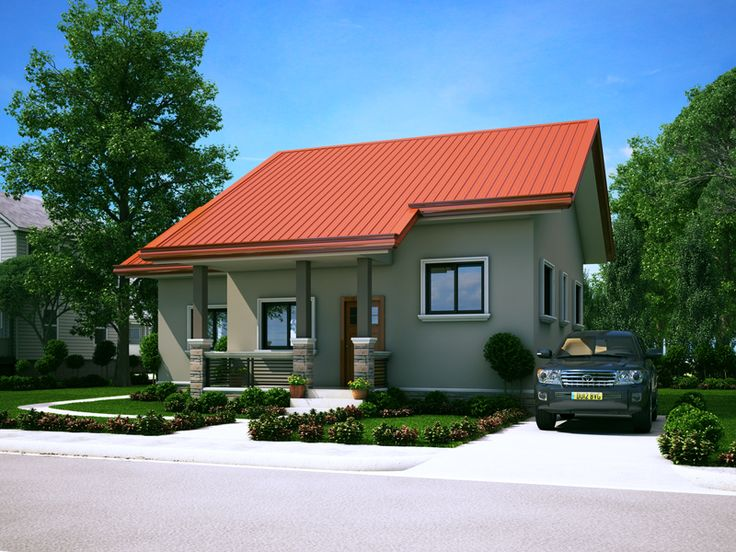 Small House Designs Like SHD 2014006 Entails Simplicity But Interesting And  Functional Design. This