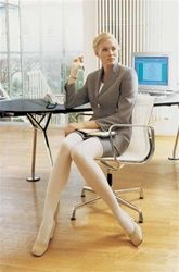 Jobst Opaque - thigh high compression stockings