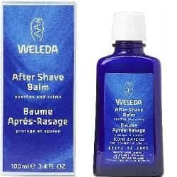 Weleda After Shave Balm: Soothes and moisturises skin after a dry or wet shave. Natural oils and waxes help sustain the skin's natural moisture.