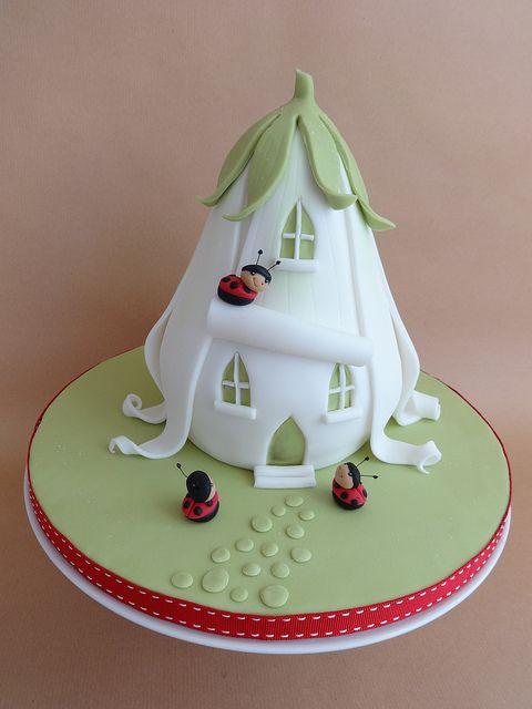 Ladybird House Cake   Flickr - Photo Sharing!