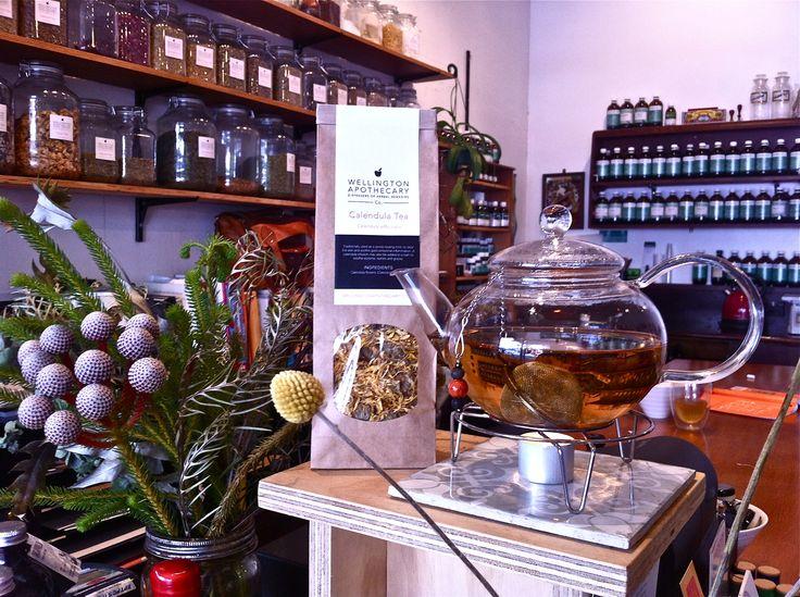 Calendula Tea @ Wellington Apothecary