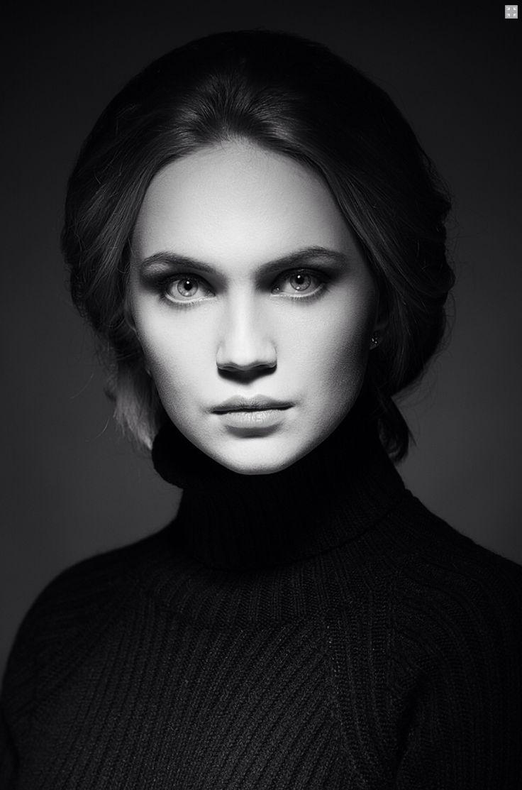 Красивый портрет девушки с хорошим светом