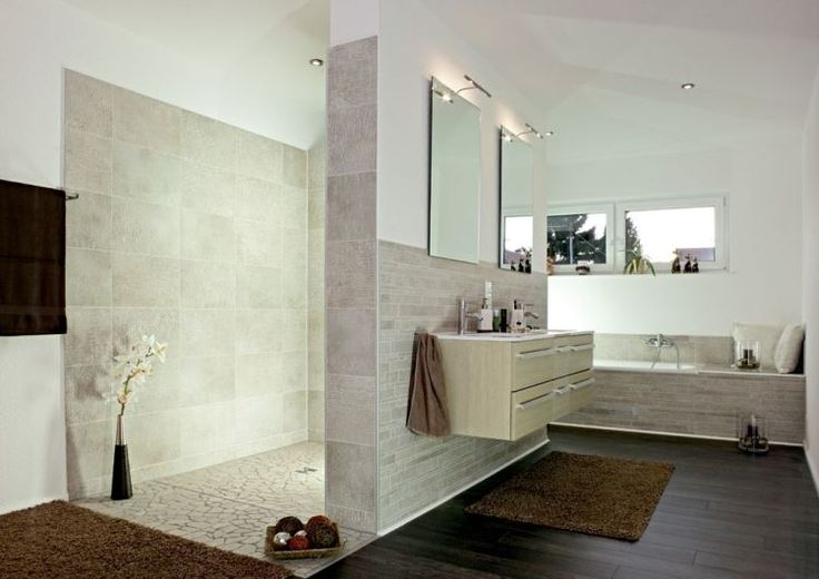 paroi de douche ou douche ouverte quelles sont les tendances design et interieur. Black Bedroom Furniture Sets. Home Design Ideas