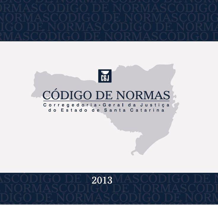NOVO CÓDIGO DE NORMAS DE SANTA CATARINA - INFORMATIVO Nº 01