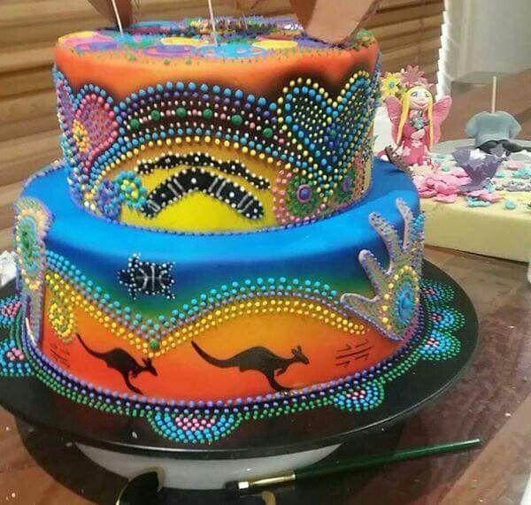 Aboriginal Designs By Hot Cakes N Cool Cookies In 2020