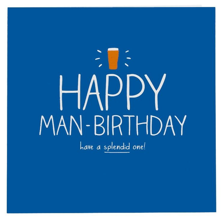 happy birthday for men