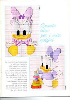 """basta un filo........ lavori a maglia per bambini: Una """"Paperina"""" per lei ......."""