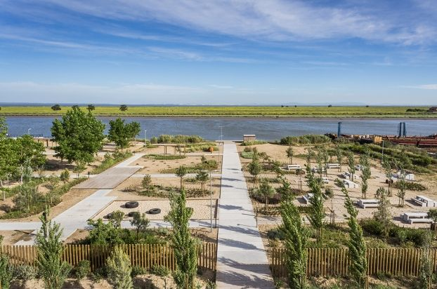 WAN Awards #Landscape entry Tagus Linear Park #Portugal by Topiaris Lda