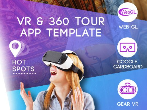 Create 360 tours and publish them on mobile, VR, desktop and web.   This is an easy to customize app template of a VR Application for Gear VR and Google Cardboad.  Try this demo app on Play Market or PC Demo build  It's Hybird! Supports VR and flat mode. Works on desktops and even on the web.  No coding skills are required. All content settings are available as json files. You can preview your tours in Editor, on desktop or mobile without rebuilding the project. Just place data into a spe...