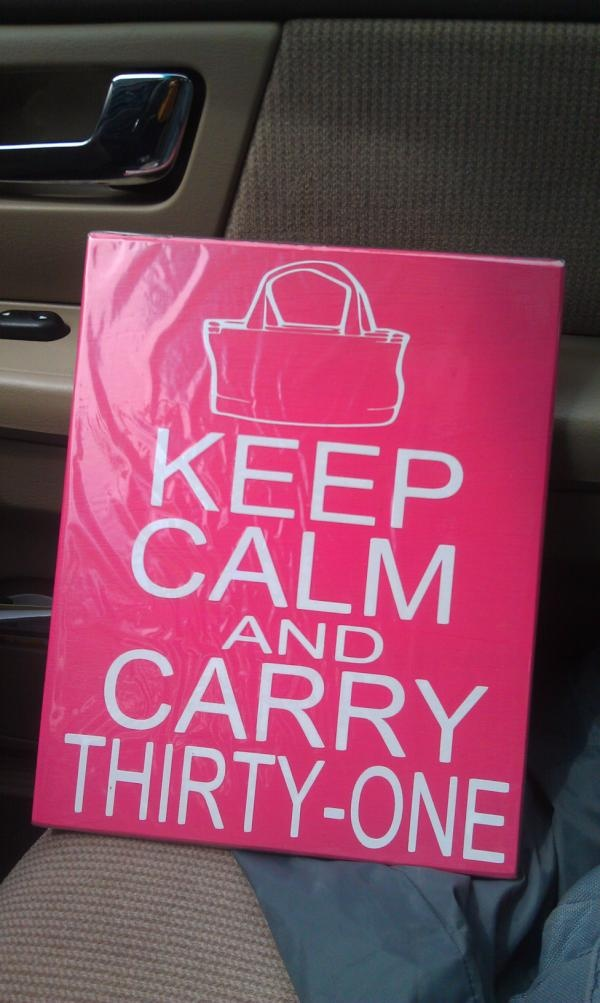 If you're looking for a practical gift for your child's teacher, neighbor, friend, sister, cousin, co-worker, boss, employee, spouse or even the mail man, you have got to browse the Thirty One catalog and place your order soon! www.mythirtyone.com/chelseamills
