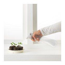 IKEA - TOMAT, Spruzzatore, Puoi regolare l'intensità del getto d'acqua.
