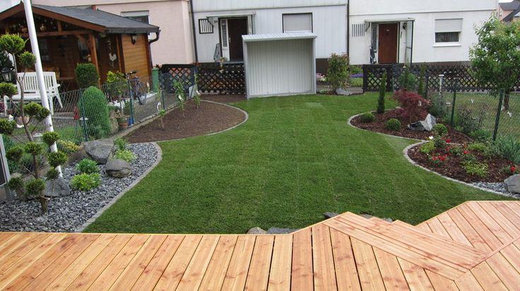 Garten Und Landschaftsbau Vorher Nachher. die besten 25+ kleiner ...
