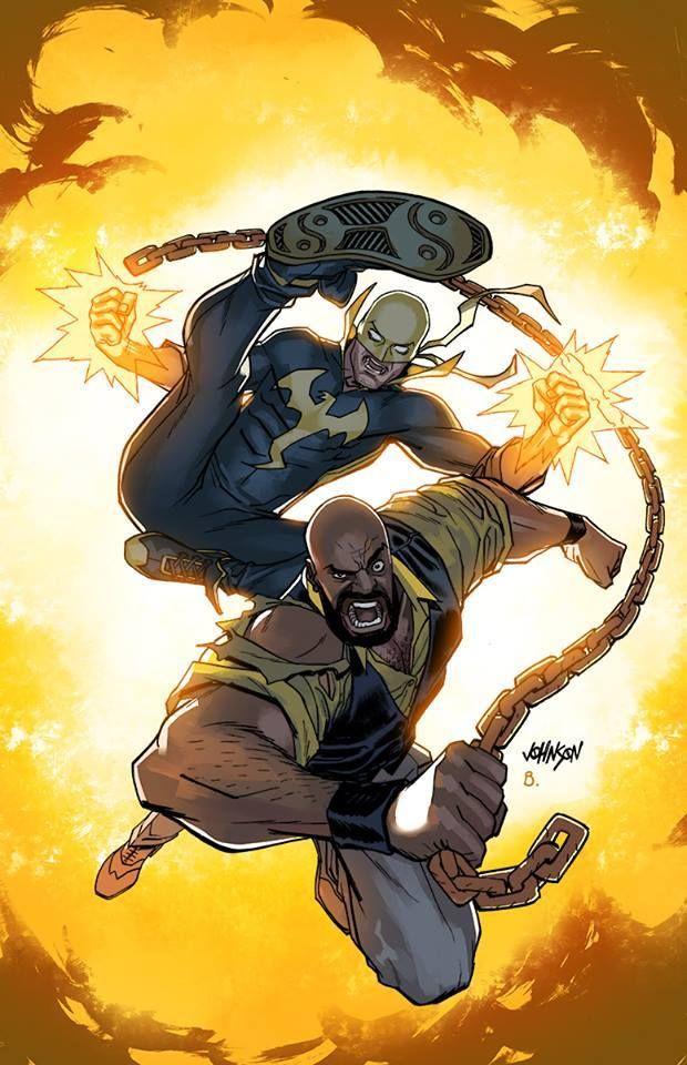 ArtVerso — Dave Johnson - Power Man and Iron Fist