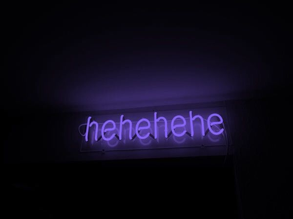 Yeah, keep laughing  | Anette Schmidt | Purple aesthetic