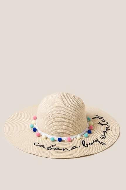 Cabana Boy Wanted Floppy Hat  8190752e7234