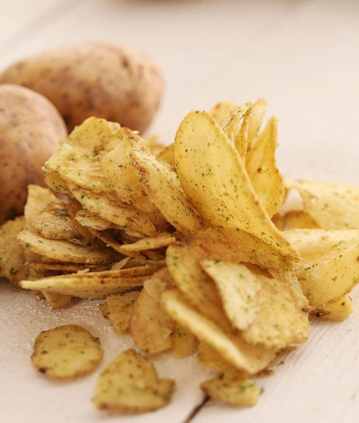 Chips di patate al forno - Cucina Naturale