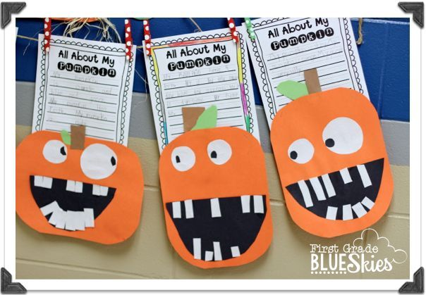Pumpkin Week {FREEBIES} Lots of freebies on here for primary, not just halloween