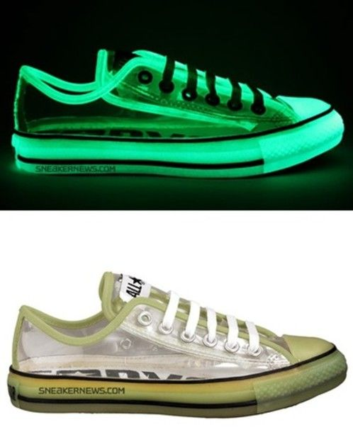 28bc50246885f shoes phosphorescent chuck taylor all stars converse transparent fluo neon  lighting hipster shinning glow in the dark dope style sneakers