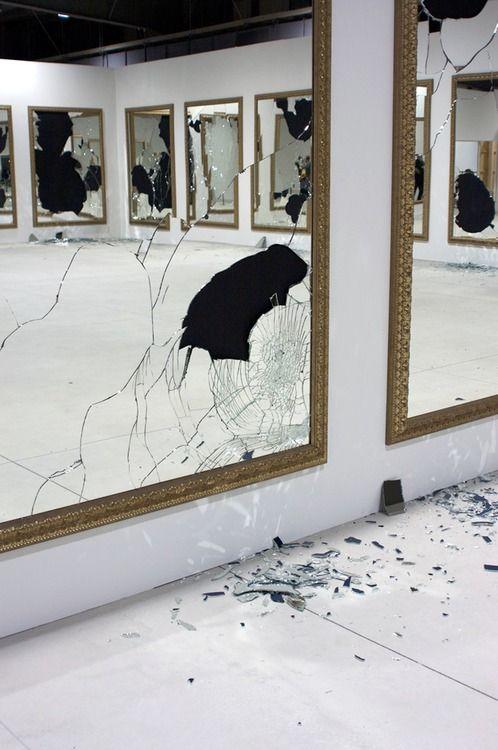 Michelangelo pistolleto miroir performance