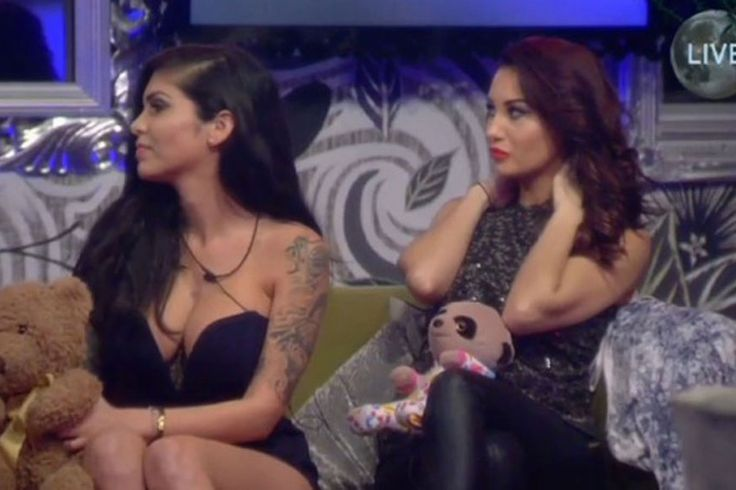 The model was almost put up for eviction by her fellow Celebrity Big Brother housemates