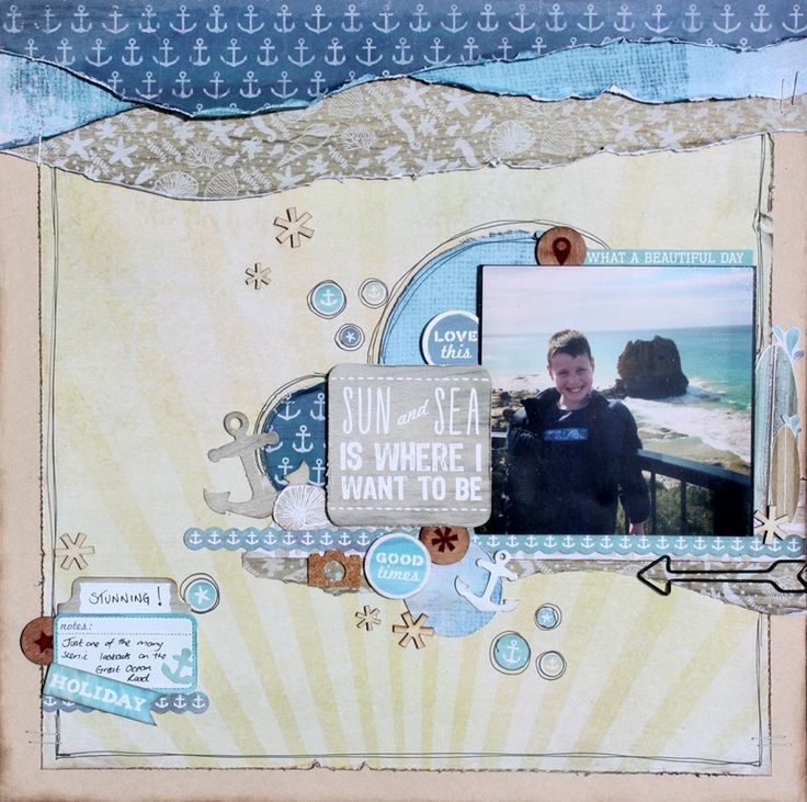 Kaisercraft Sandy Toes - Wendy Smith
