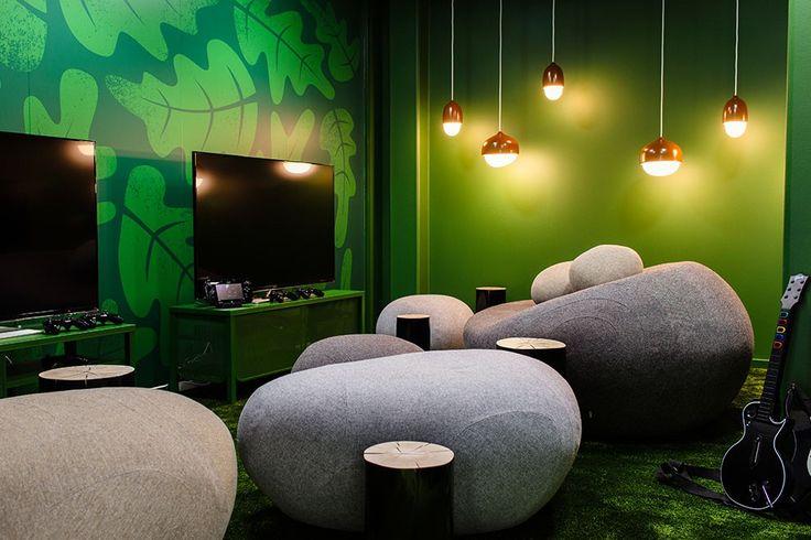 ИТ-офисы: Стокгольмская штаб-квартира игровой студии King, создавшей Candy Crush Saga