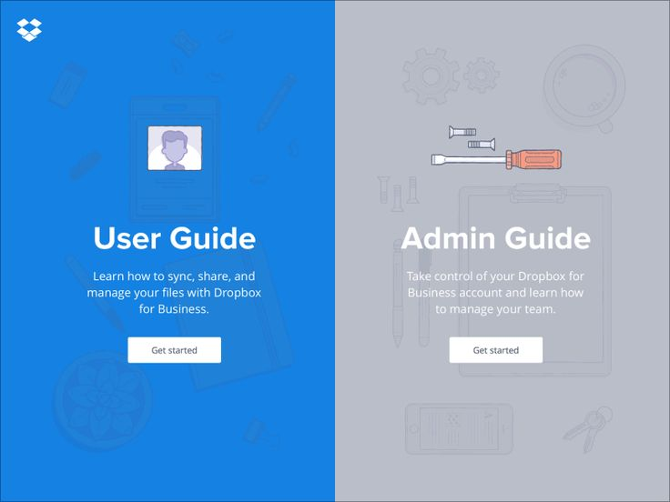 We designed and built this user guide with the amazing people of Dropbox.  Check it: www.dropbox.com/guide  You can follow me on Twitter for updates  ----  Illustrations by the great @Zach Graham