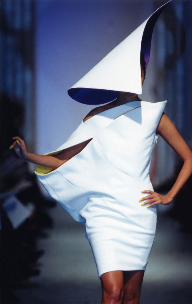 Thierry Mugler Haute Couture - Spring/Summer 1998 Repinned by www.fashion.net