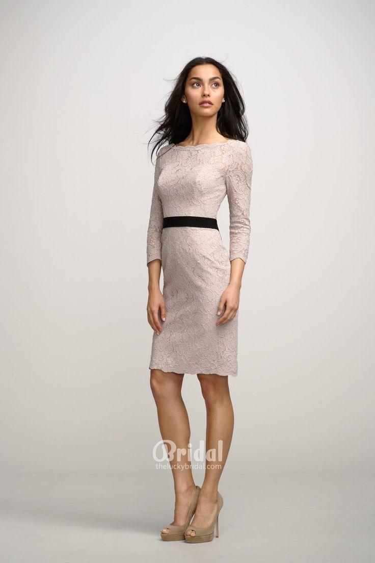 23 best Short Bridesmaid Dresses images on Pinterest   Bridal gowns ...