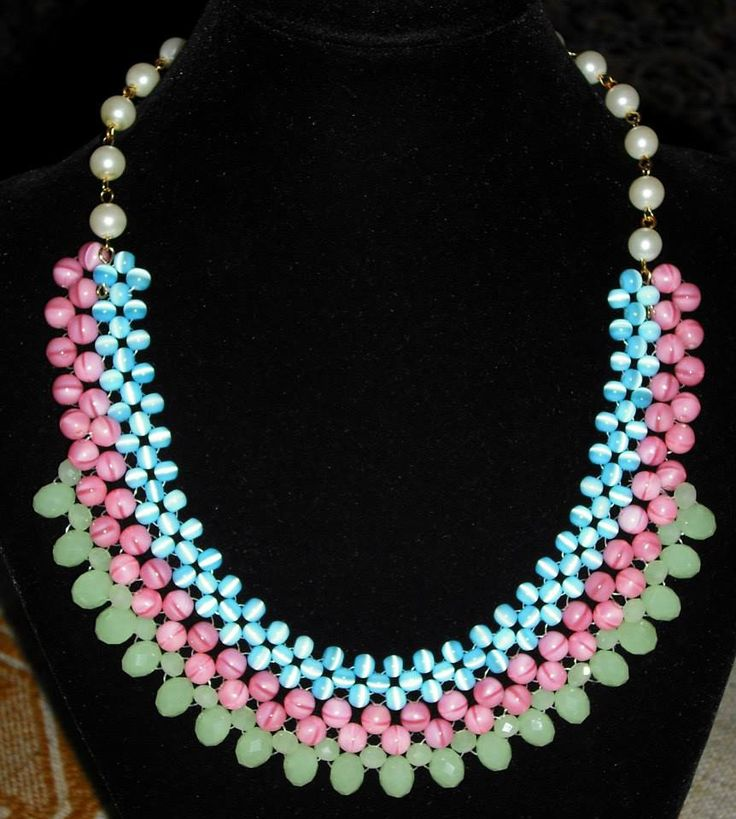 #handmade #beadednecklace