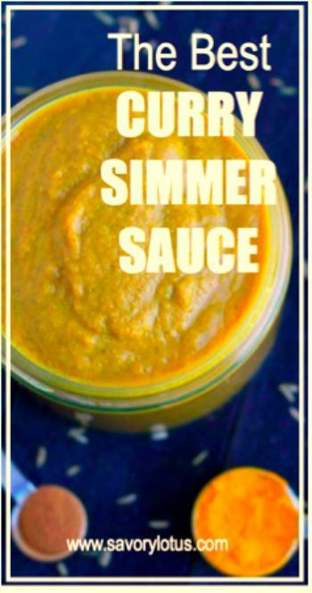 The Best Curry Simmer Sauce - savorylotus